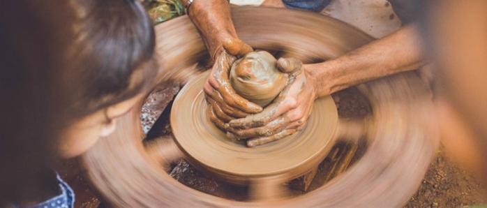 סדנת חימר ויצירת כלי חרס